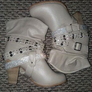 Shoes - Fancy Rhinestone Boots